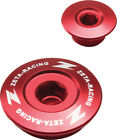 Zeta Engine Oil Plug Set Red Honda CRF TRX XR 150 250R 450R 250X 450X NEW
