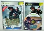 Medal of Honor: Frontline (Original Microsoft Xbox, 2002) Complete Video Game