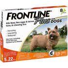 FRONTLINE Plus for Dogs 0 22 Lbs 3 Months Supply 3x 1 Month Pack