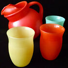 3 Colorful Cups Hazel Atlas