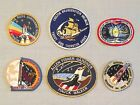 NASA PATCH LOT 6 Space Program  Shuttle STS Mission Iron On Patches 253