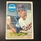 VINTAGE ROD CAREW 1970 TOPPS #510 AUTOGRAPHED CARD PC2427