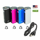 NEW Eleaf iStick 30w 2200mAh Built In Battery Mod USB Charger Cord and Adapter