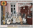 GEORGE HARRISON / ROCKN' ROUGE 1974 2CD+POSTER Baton Rouge Long Beach Ca