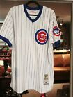 Andre Dawson Chicago Cubs Mitchell & Ness 1987 Authentic Jersey Mens White