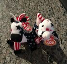 TY Beanie Babies Lefty 2000 andRighty 2000** MINT WITH ERRORS ** FREE SHIPPING