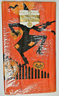 Vintage Reeds Halloween Table Cover Witch Go Go Boots Guitar Unused 1960s