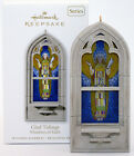 2010 GLAD TIDINGS NEW Hallmark Windows of Faith Ornament STAINED GLASS LIKE