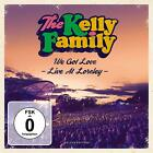 THE KELLY FAMILY - WE GOT LOVE-LIVE AT LORELEY (LIMITED FANBOX)  4 CD+DVD NEW+