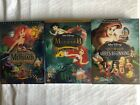 Little Mermaid Trilogy 1 2 Ariels Beginning 3 Movie DVD Bundle New