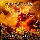 FIRST SIGNAL - LINE OF FIRE   CD NEW+