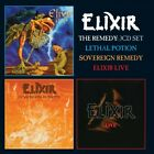 ELIXIR - THE REMEDY (REMASTERED 3CD BOXSET+POSTER)  15 CD+MERCHANDISING NEW+