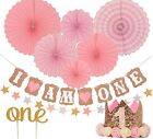 FIRST BIRTHDAY DECORATION SET FOR GIRL CLEARANCE SALE LIMITED SUPPLY