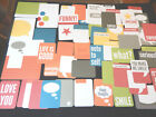 Project Life Partial SLATE EDITION KIT 6 4x6  50 3x4 cards scrapbooking NEW