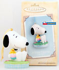 2004 Snoopy A NEW FRIEND NEW Hallmark Spring Ornament Peanuts SO CUTE EASTER