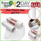 Ess Roll Clear Transfer Tape Grid Adhesive Vinyl Application Paper Cameo 12x10