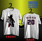 Pete Alonso Polar Bear White T Shirt Size S to 5XL Made In Us