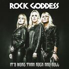 Rock Goddess ‎– It's More Than Rock And Roll : CD 2017 LIKE NEW UNPLAYED !!