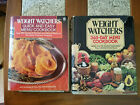 2 Weight Watchers Cookbooks 365 Day Menu Full Choice  Quick and Easy Recipes