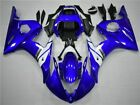 DS Plastics Injection Blue White Fairing Fit for Yamaha 2003-2005 YZF R6 h03a