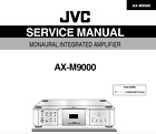 JVC AX-M9000 Schematic Diagram Service Manual Schaltplan Techniques