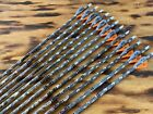 12 Gold Tip Lost Camo Hunter 300 400 or 500 Blemished W 2in Fletchings or SHAFT