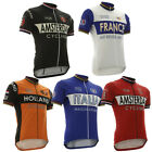 National Europe Team Retro Cycling Jersey Short Sleeve