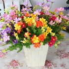 28 Head Artificial Fake Silk Daisy Flower Bouquet Home Wedding Party De TDO