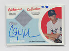 2012 Topps Heritage Clubhouse Collection Clayton Kershaw Auto Jersey 6 25 RARE