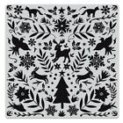 Hero Arts NORDIC HOLIDAY Background Cling Bold Prints Stamp 6x6 2019