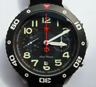 Red Star Military Automatic Bi Compax Chronograph SS 32 Jewels Sapphire