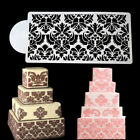 Flower Lace Cake Stencils Fondant Cake Border Decoration Party Wedding DI TDO