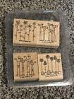 Stampin Up Simple Somethings Stamp Set of 4 Used