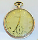 Taschenuhr pocket Watch  CHRONOMETRE ICARE  15 RUBIS 800 Silber