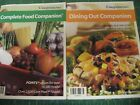 WEIGHT WATCHERS CORE PLAN COMPLETE FOOD COMPANION AND DINING OUT COMPANION BOOKS