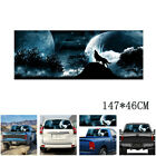 WOLF HOWLING SNOWY SKY Rear Window Graphic Tint Decal Sticker For Truck Suv Car