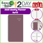 Ess Weekly Planner Refill Day Runner Wirebound Planning Notes Appointment Office