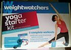 Weight Watchers Yoga Starter Kit DVD Strap  Block Sara Invanhoe New Sealed