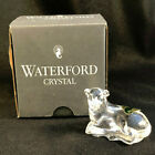 NIB WATERFORD CRYSTAL 1995 NATIVITY SHEEP SITTING STICKERS NEVER USED