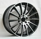 17 S63 AMG STYLE BLACK WHEELS RIMS FITS 4MATIC MERCEDES BENZ C250 C300 C350