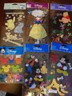 HUGE lot of Disney stickers Paper Punch Outs princess piglet Pooh scrapbook