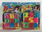 Magnetic ABC 123 Alphabet Letters  Numbers Learning Refrigerator Fridge Magnets