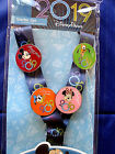 Disney  2019 MICKEY  FRIENDS  Deluxe 4 pin Starter Set + Dated Lanyard  Card
