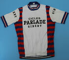 CICLES PARLADE GIBERT Retro Cycling Jersey Short Sleeve