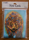 8 Leanin Tree Note Cards COLORFUL BEAR Southwest Micqaela Jones Made in USA