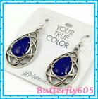 Brighton Tranquil Lapis Blue JA0891 French Wire Earrings NWT 68