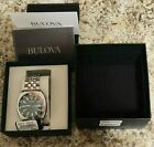 Bulova Accutron II 96B210 Men's Watch With 43mm Black Face & Silver
