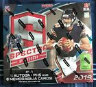 2019 Panini Spectra Football FIRST OFF THE LINE Sealed Hobby Box FOTL RPA 25!!
