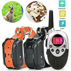 1 2 Pet Dog Training Collar Obedience Shock Remote Control Electronic Waterproof