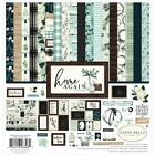 CARTA BELLA 12 X 12 PAPER COLLECTION KIT HOME AGAIN